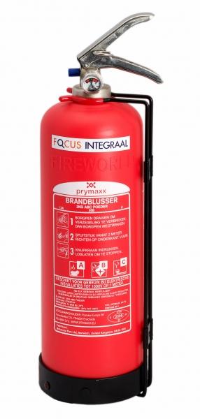 Kevlar Aramide onderhoudsvrije schuimblusser 2 liter 10 jaar garantie